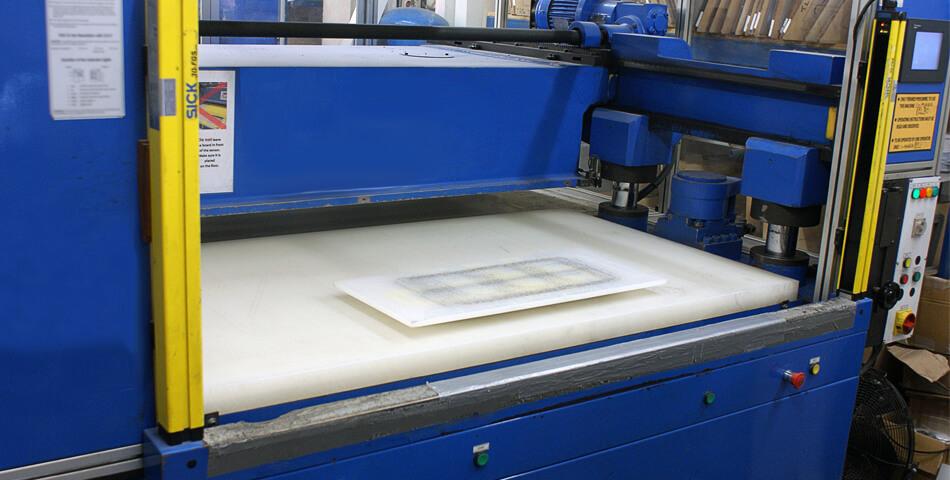 Heskins Die Cutting Press Machine