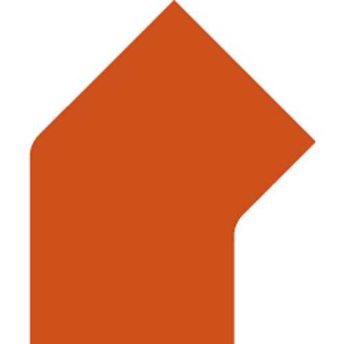 PermaRoute TL300 45° Corner to Join 2in Rolls 3.3in x 2.7in