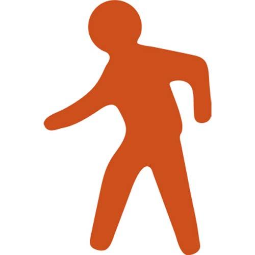 PermaRoute TL77 Walking Figure 13in x 19.6in