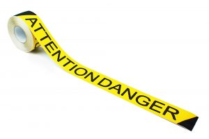 AD3 Attention Danger Printed Anti-Slip Tape 2 inch Roll