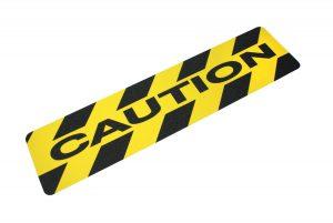 CAUT624 Caution Printed Anti-Slip Tread