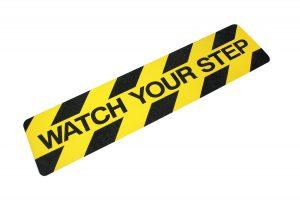 WATC624 Watch Your Step Printed Anti-Slip Tread
